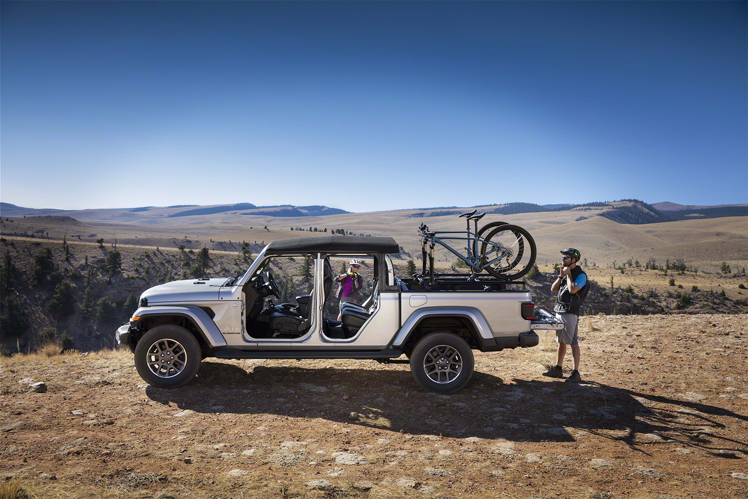2020 Jeep Gladiator bike rack