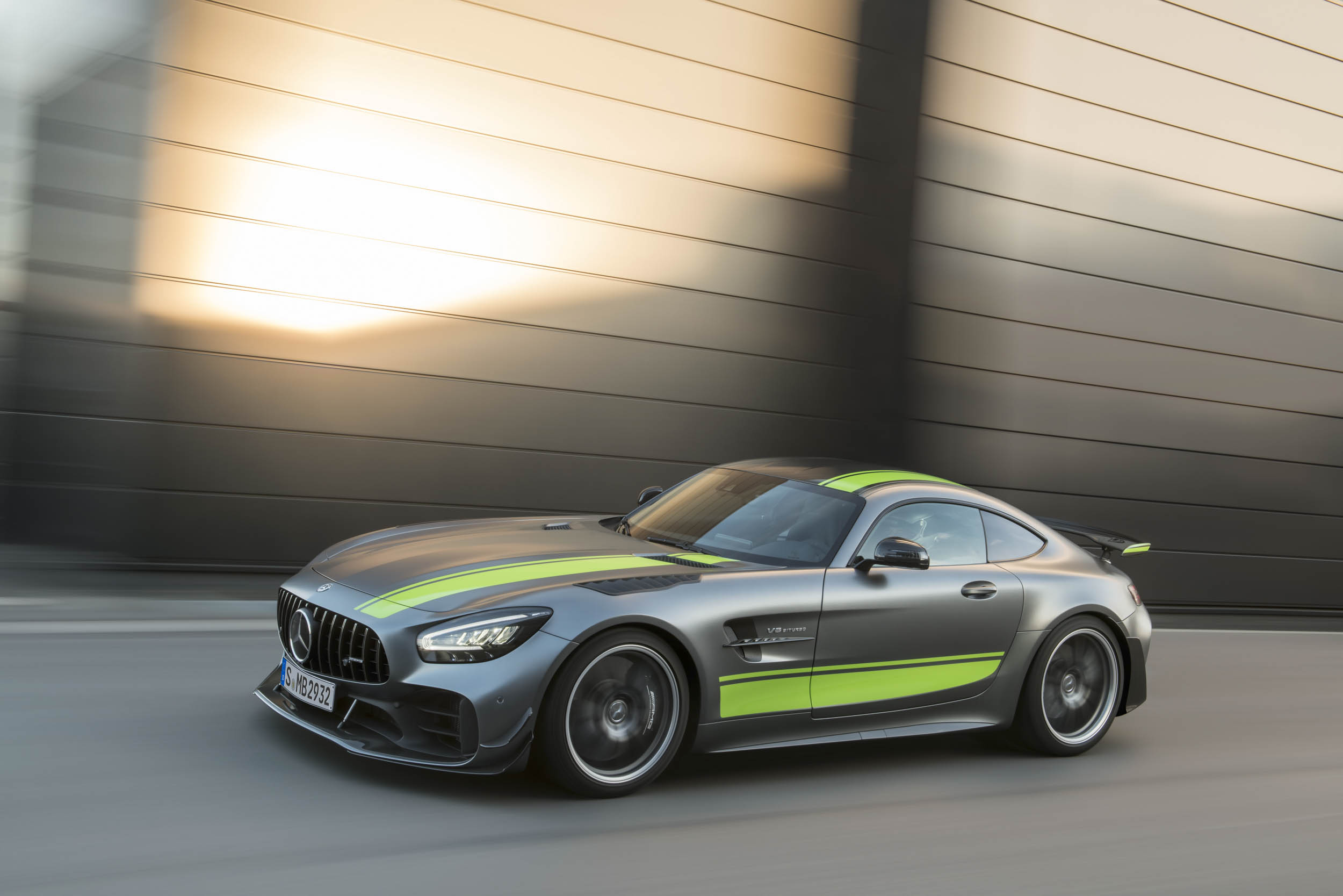 Mercedes-AMG GT R Pro front 3/4 driving