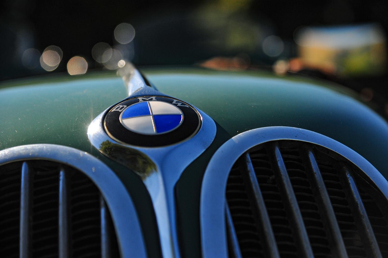 BMW 328 bmw badge detail
