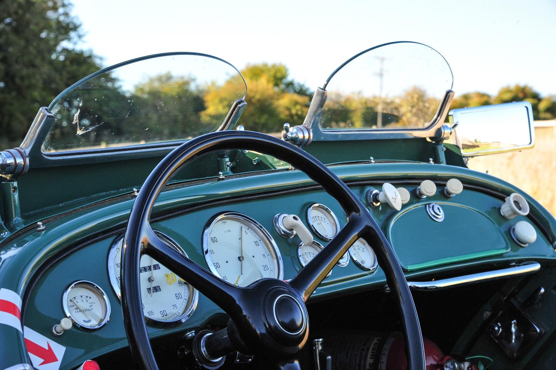 BMW 328 gauges dash
