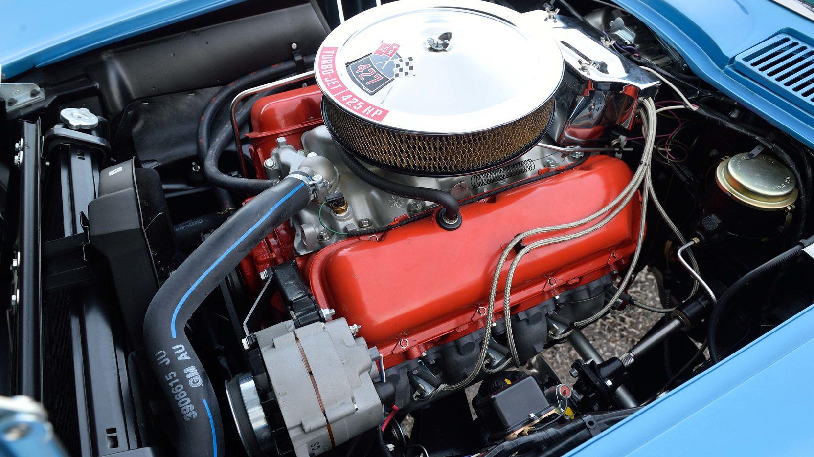 1966 Chevrolet Corvette Engine
