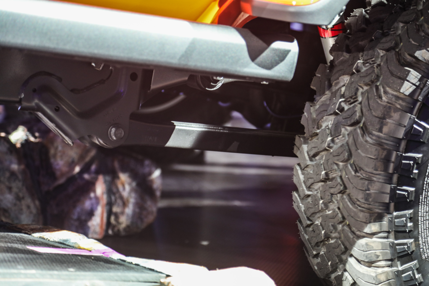 2020 Jeep Gladiator rear suspension