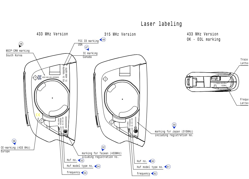 Mid engine corvette key fob sketch