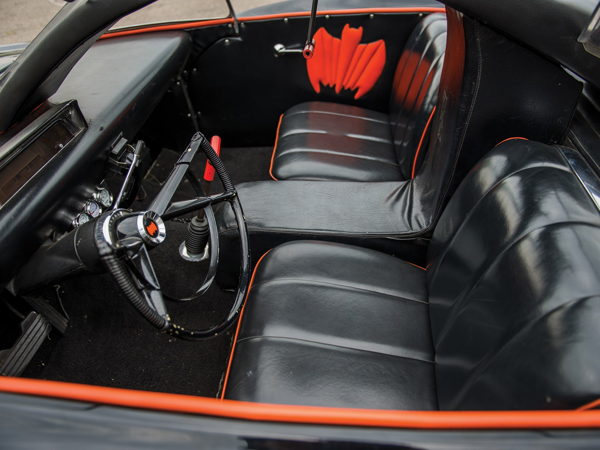 1966 Batmobile Recreation interior seats