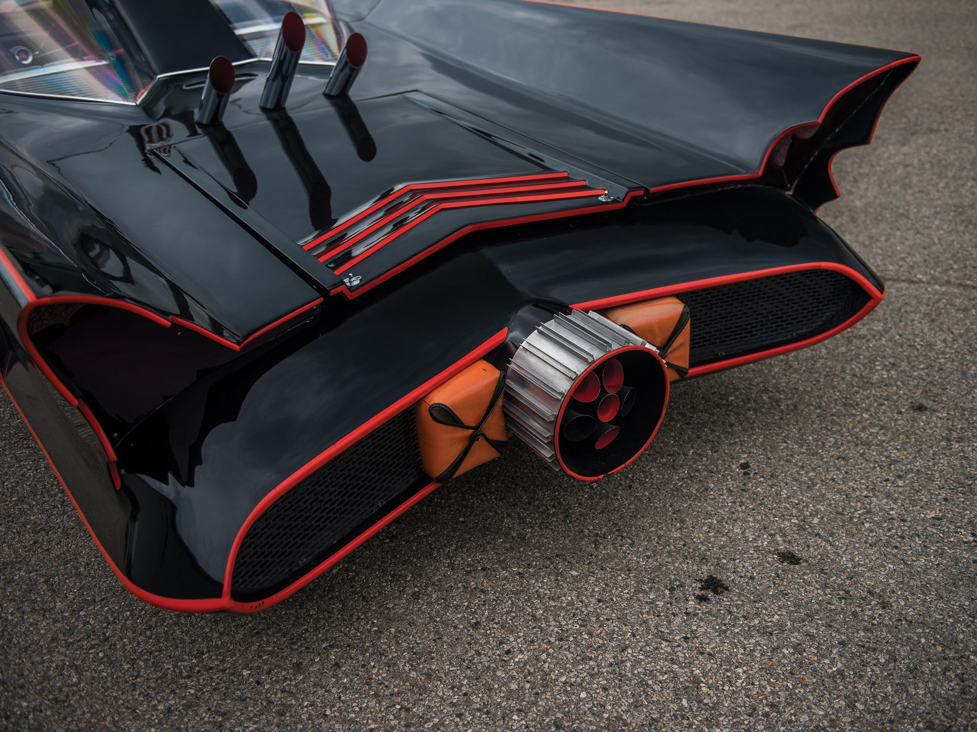 1966 Batmobile Recreation rear quarter