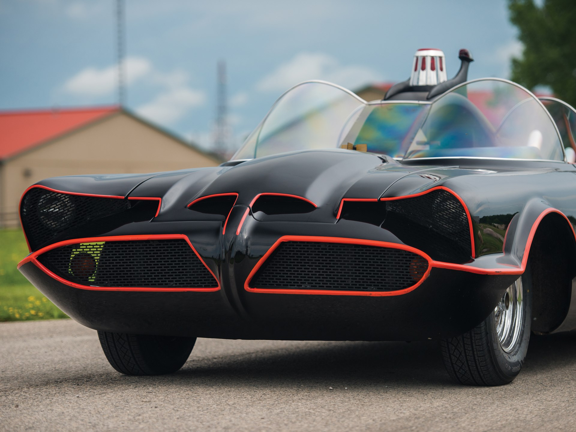 1966 Batmobile Recreation front grille