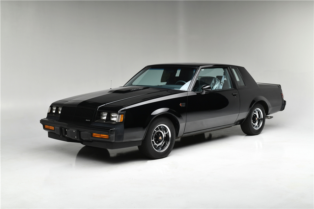 1987 Buick Grand National front 3/4 studio