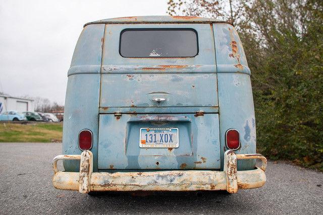 1962 Volkswagen Vanagon rear low