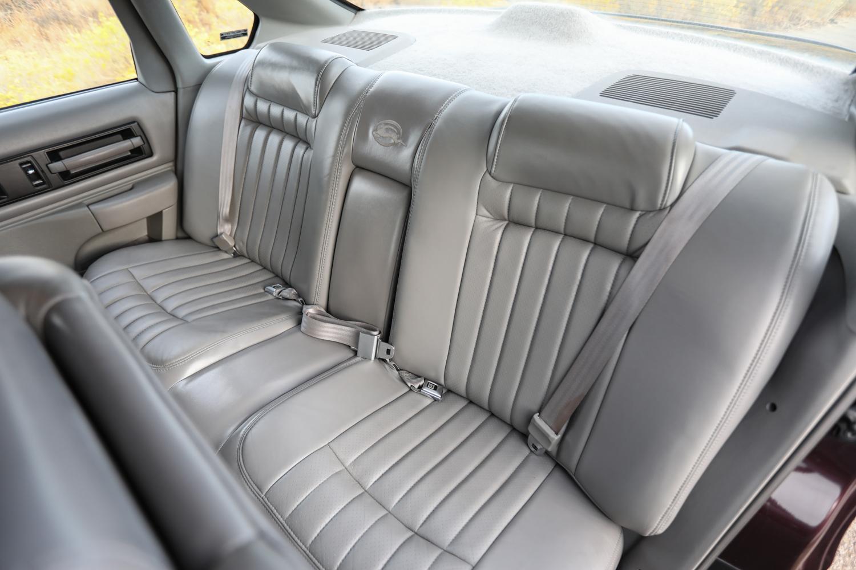 1996 Chevrolet Impala SS rear seat