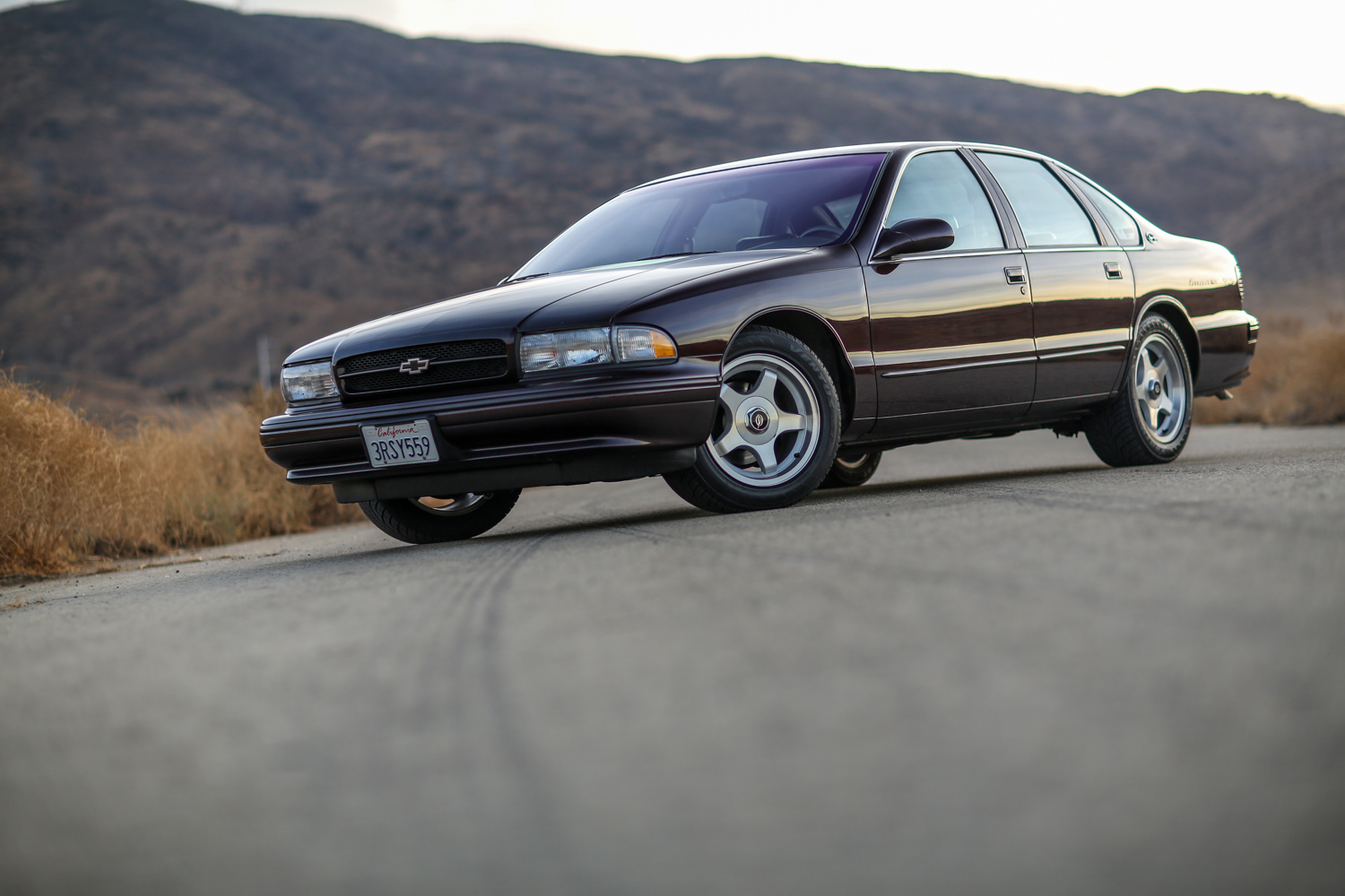 1996 Chevrolet Impala SS low 3/4 front