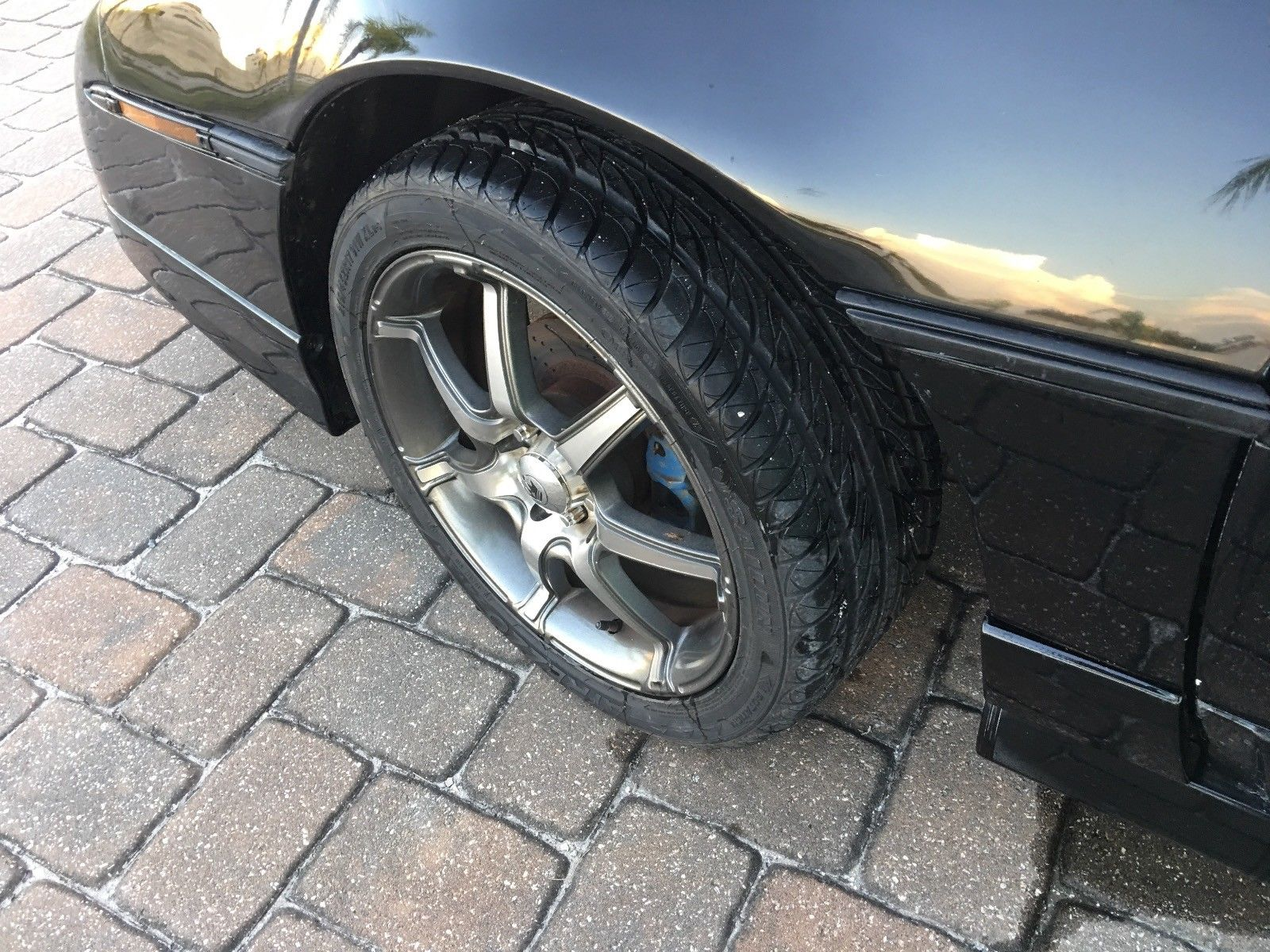 1986 Pontiac Fiero wheel
