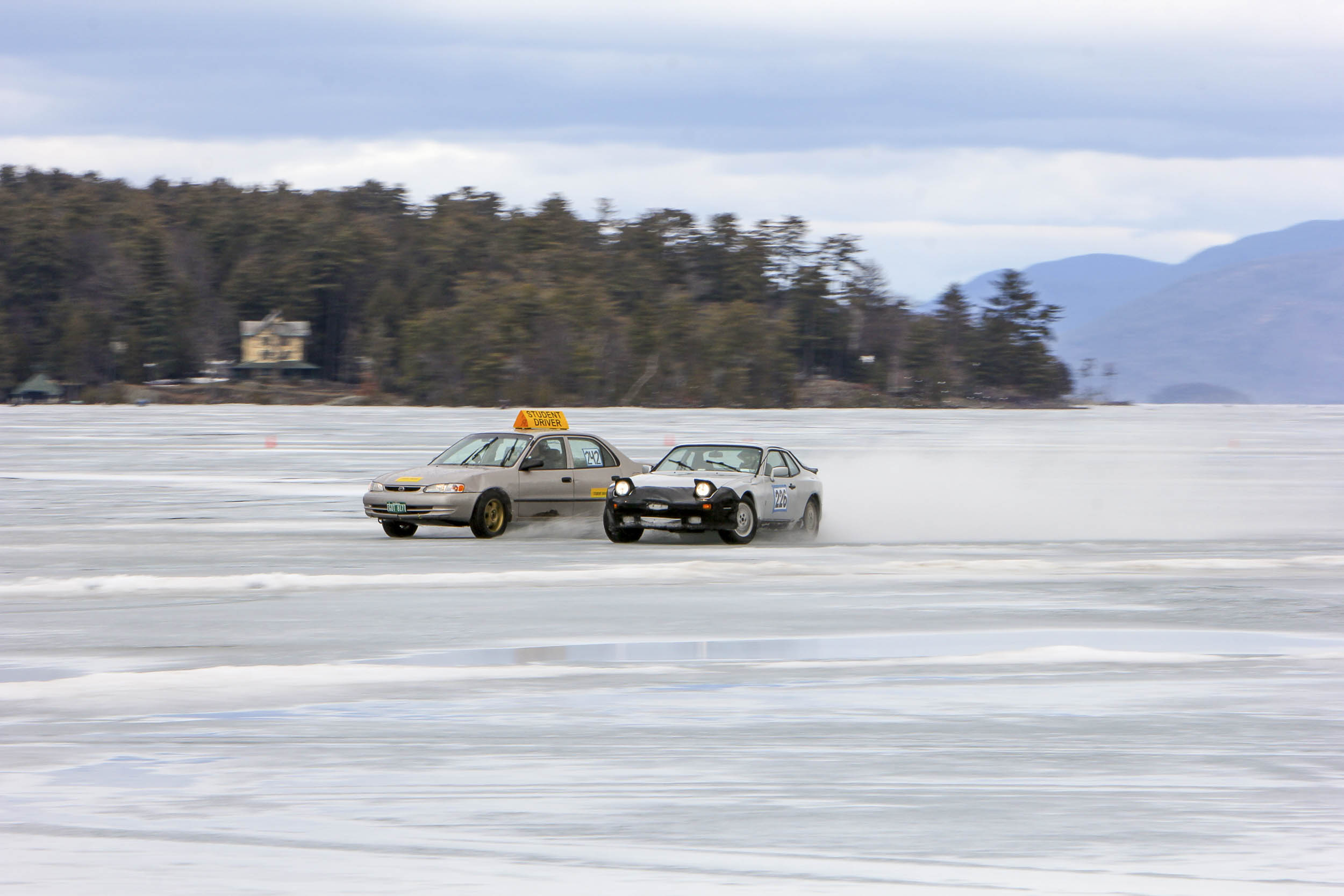ice drifting