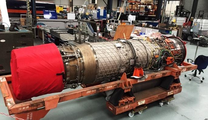 Bloodhound SSC engine