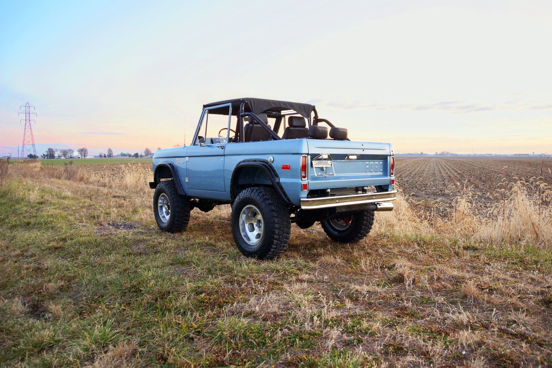 Gateway Bronco 3/4 rear