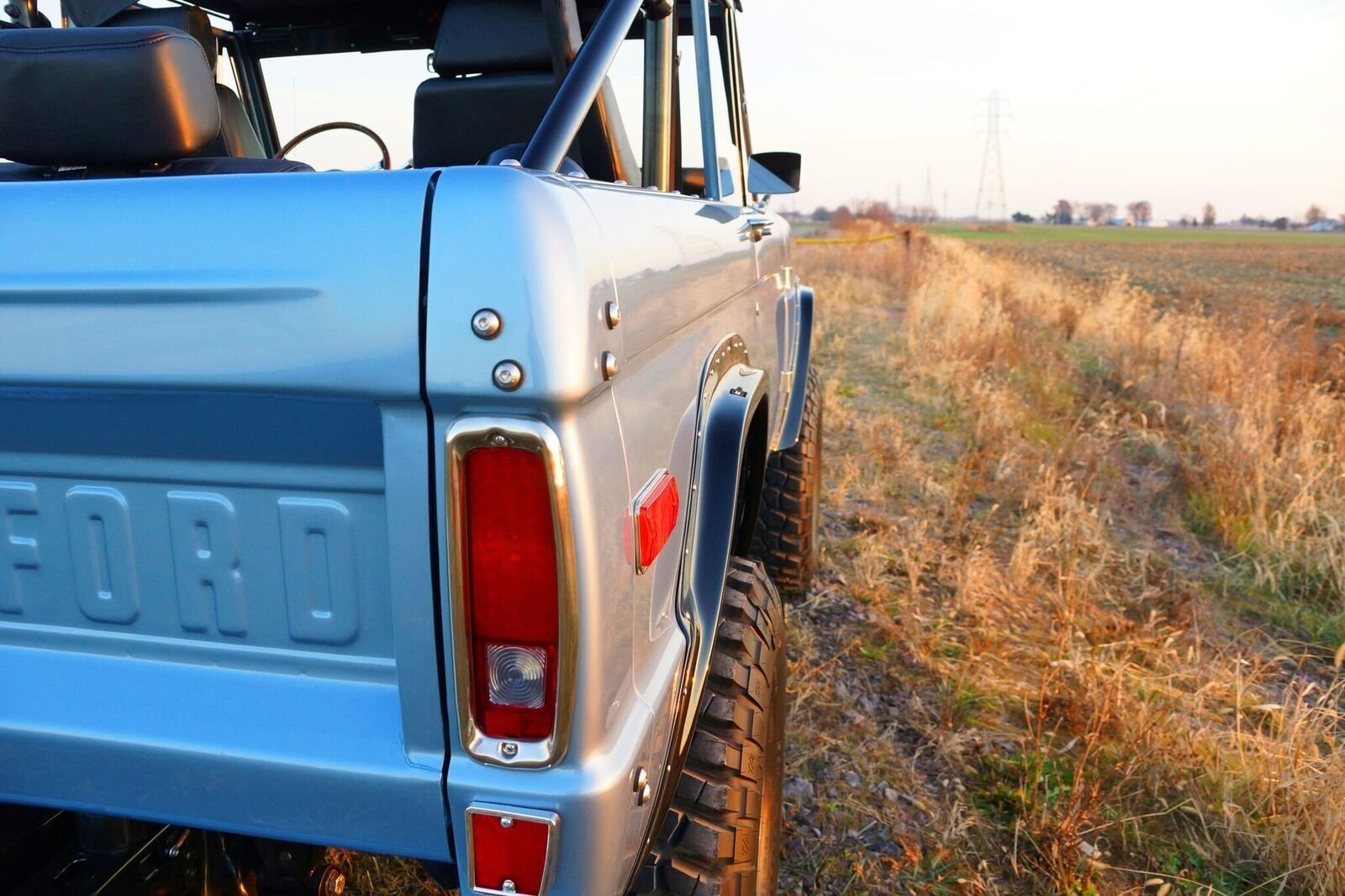 Gateway Bronco taillight detail