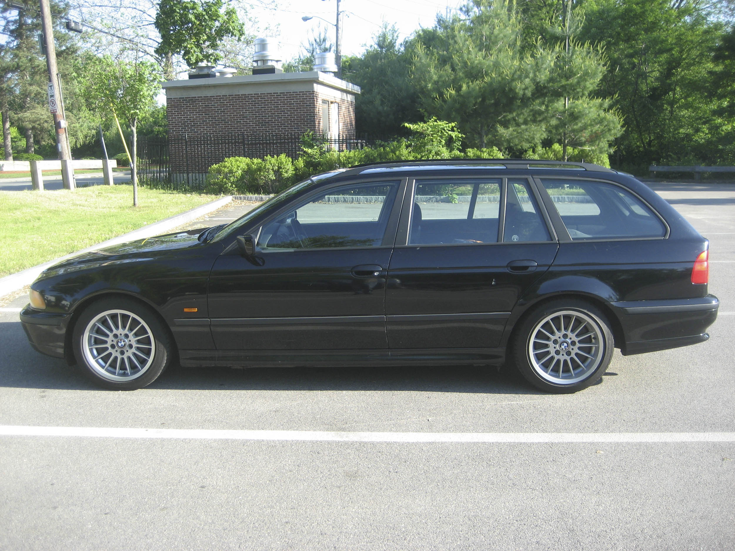 The repair-of-the-week-plan car—my 1999 BMW 528iT sportwagon.