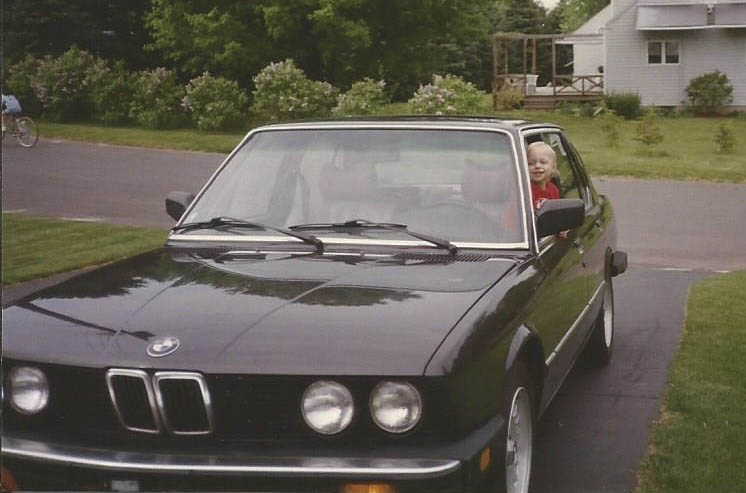 The '83 533i worked well as a daily family car until we outgrew it.