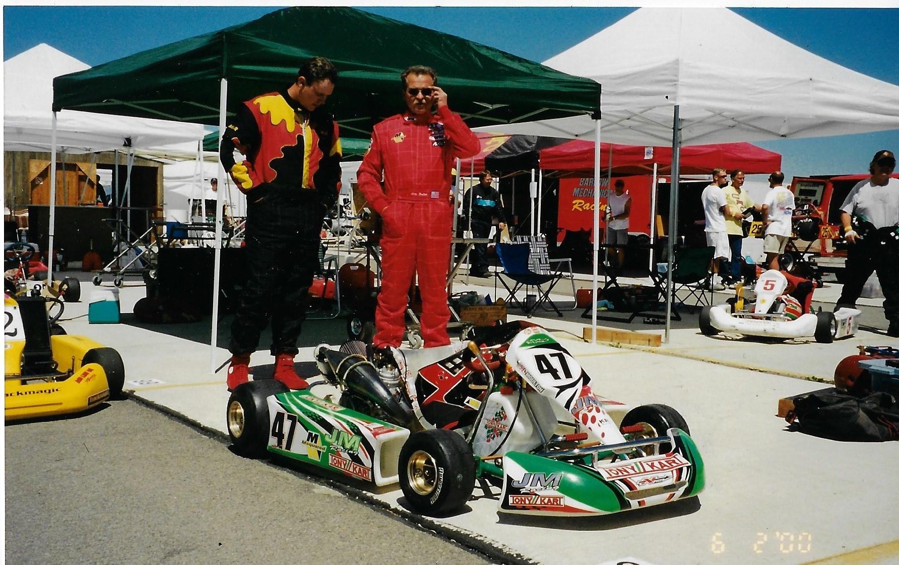Larry at the Windham – Orem Utah race around 2000-2001.