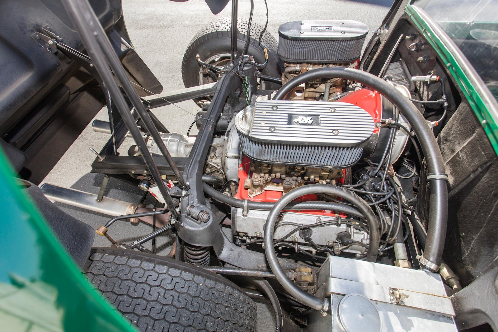 1964 Porsche 904 GTS engine