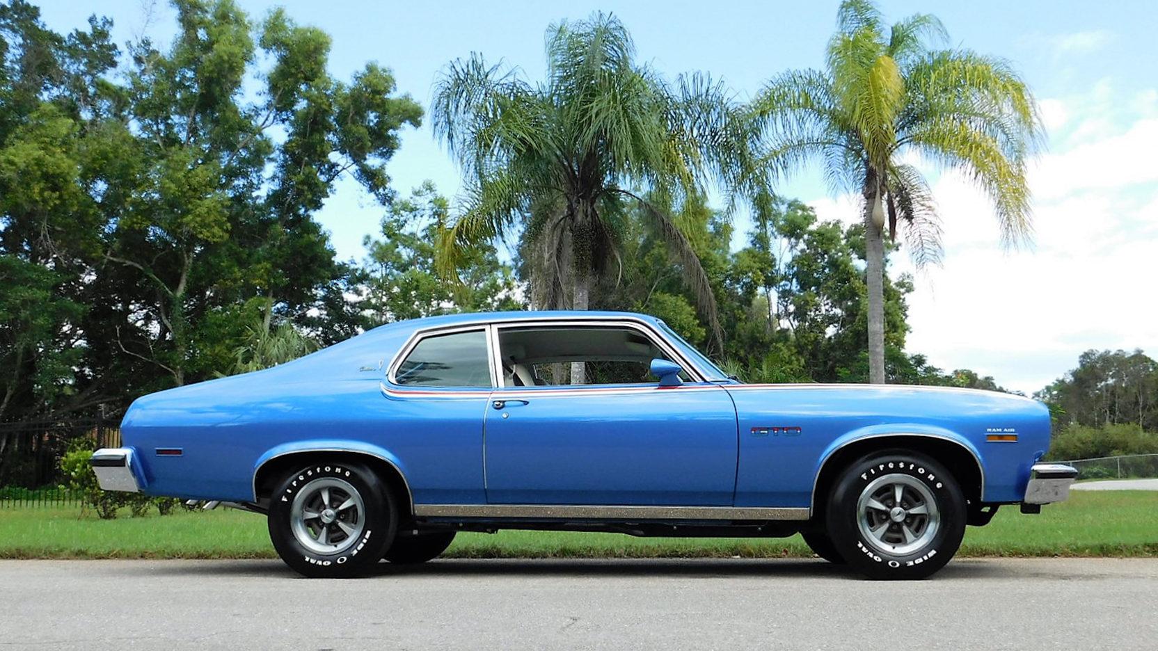 1974 Pontiac GTO profile