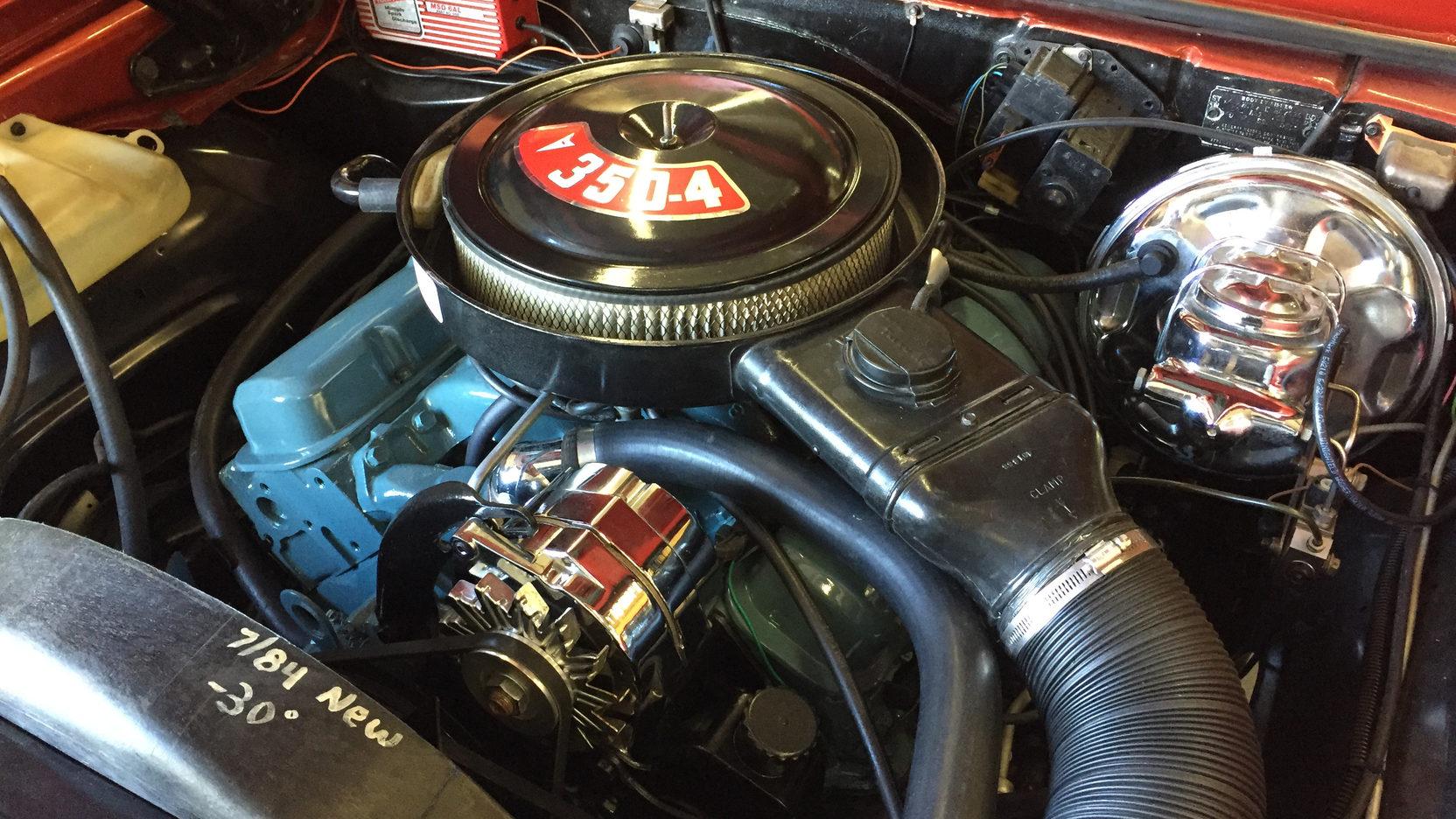 1974 Pontiac GTO 350 engine