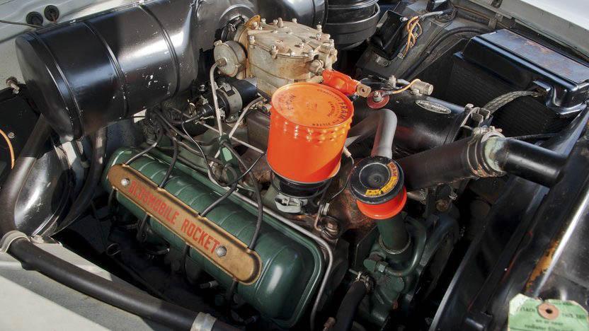 1950 Oldsmobile 88 engine