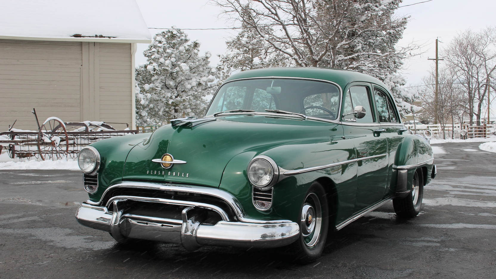 1950 Oldsmobile 88 front 3/4