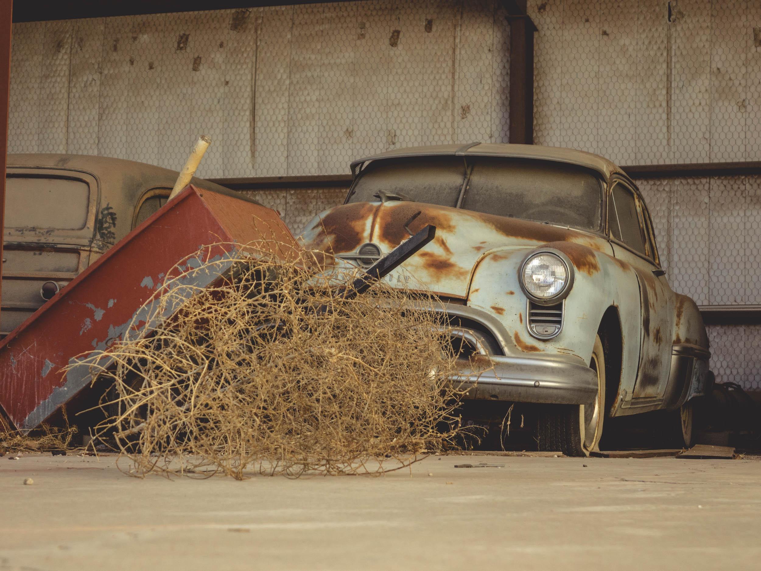 Oldsmobile 88 barn find