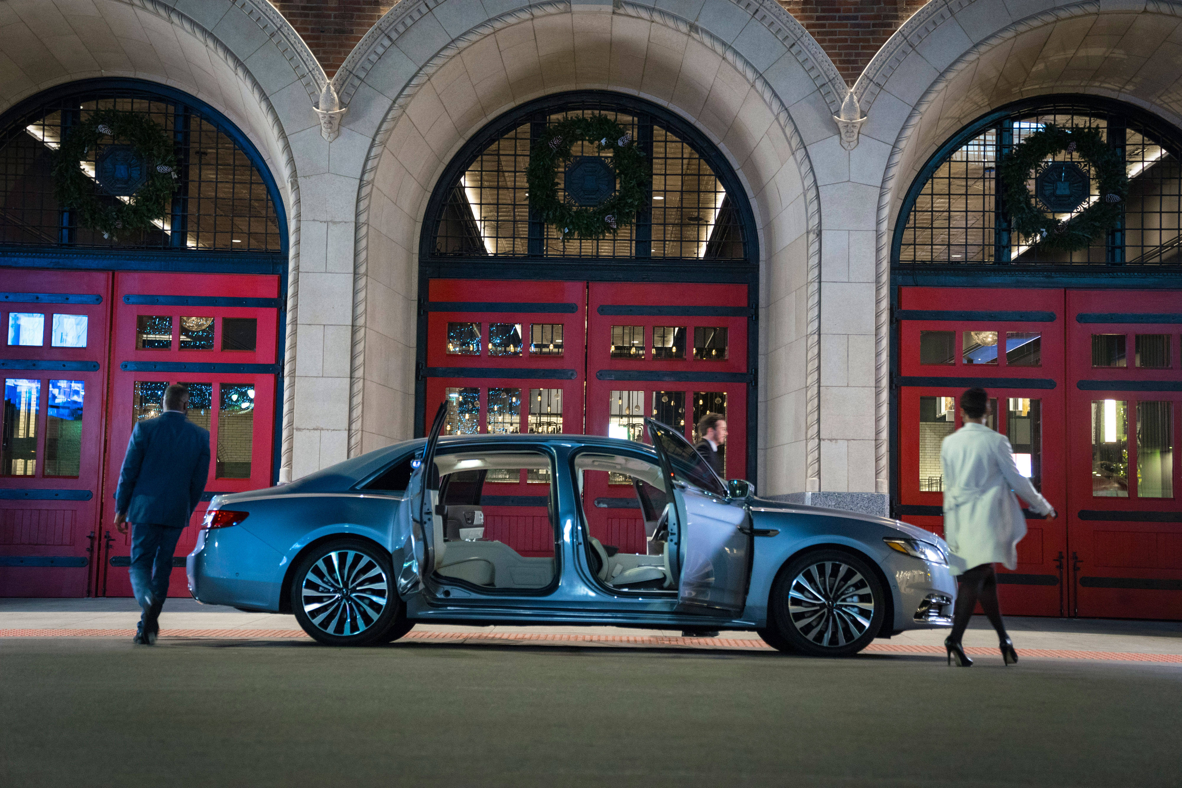 Lincoln continental 2019 80th suicide coach doors detroit firehouse