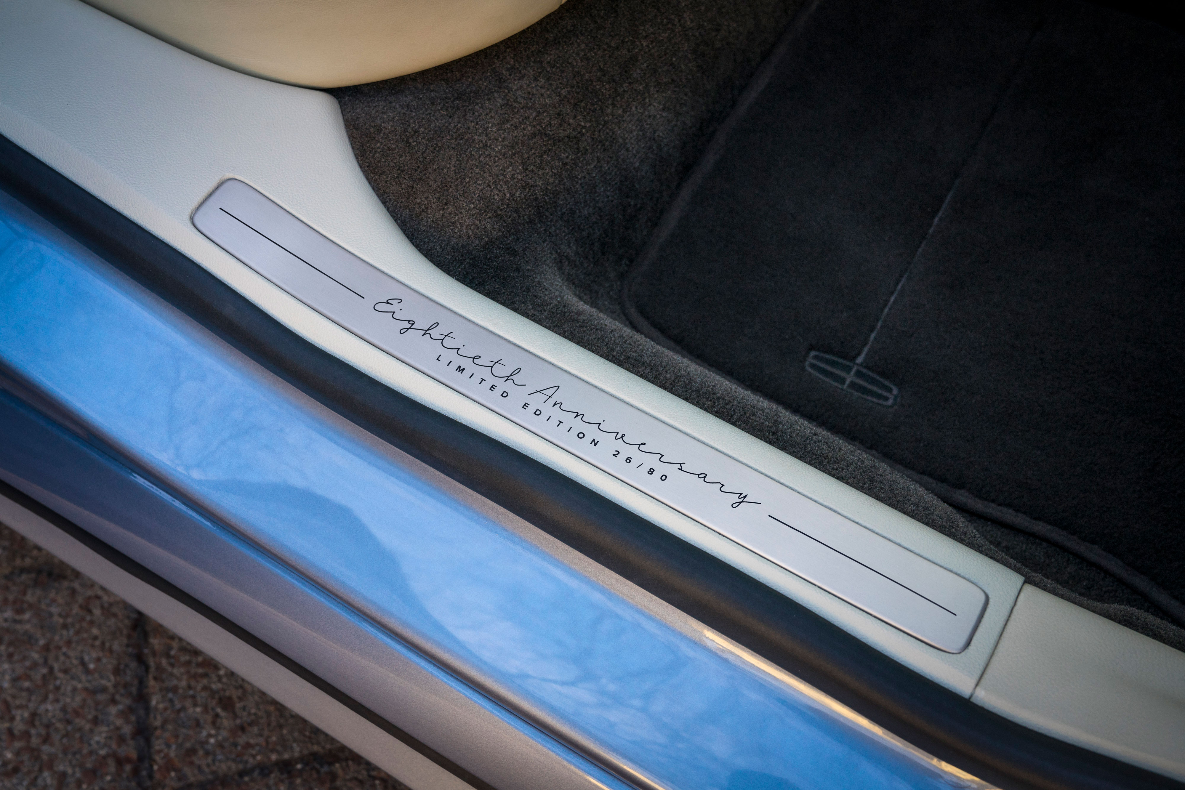 lincoln continental 80th anniversary door sill