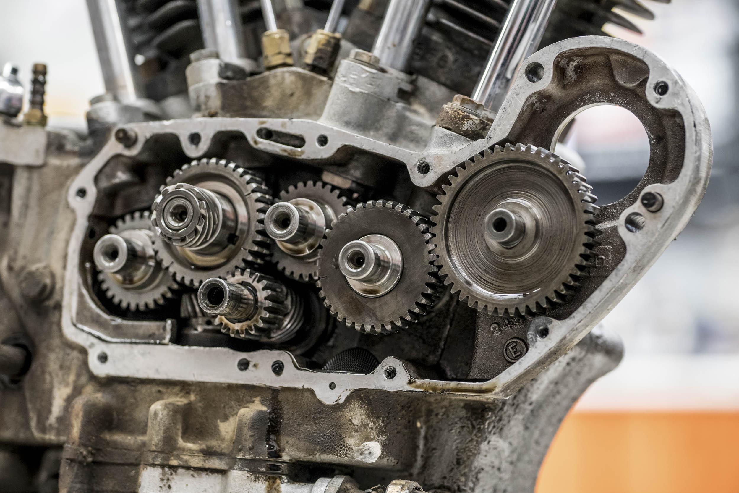 1957 Harley-Davidson Sportster XL engine