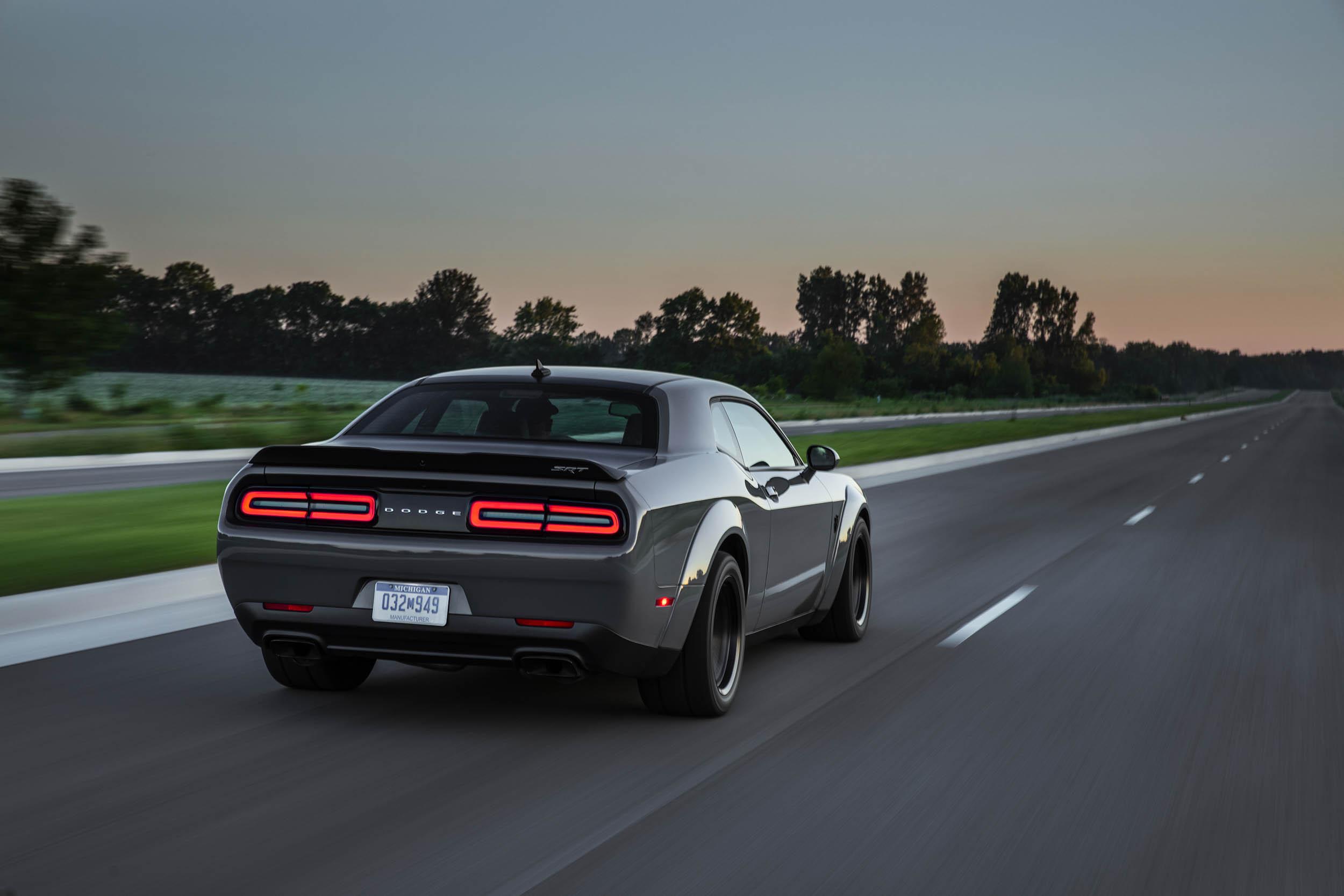 2018 Dodge Challenger SRT Demon rear 3/4