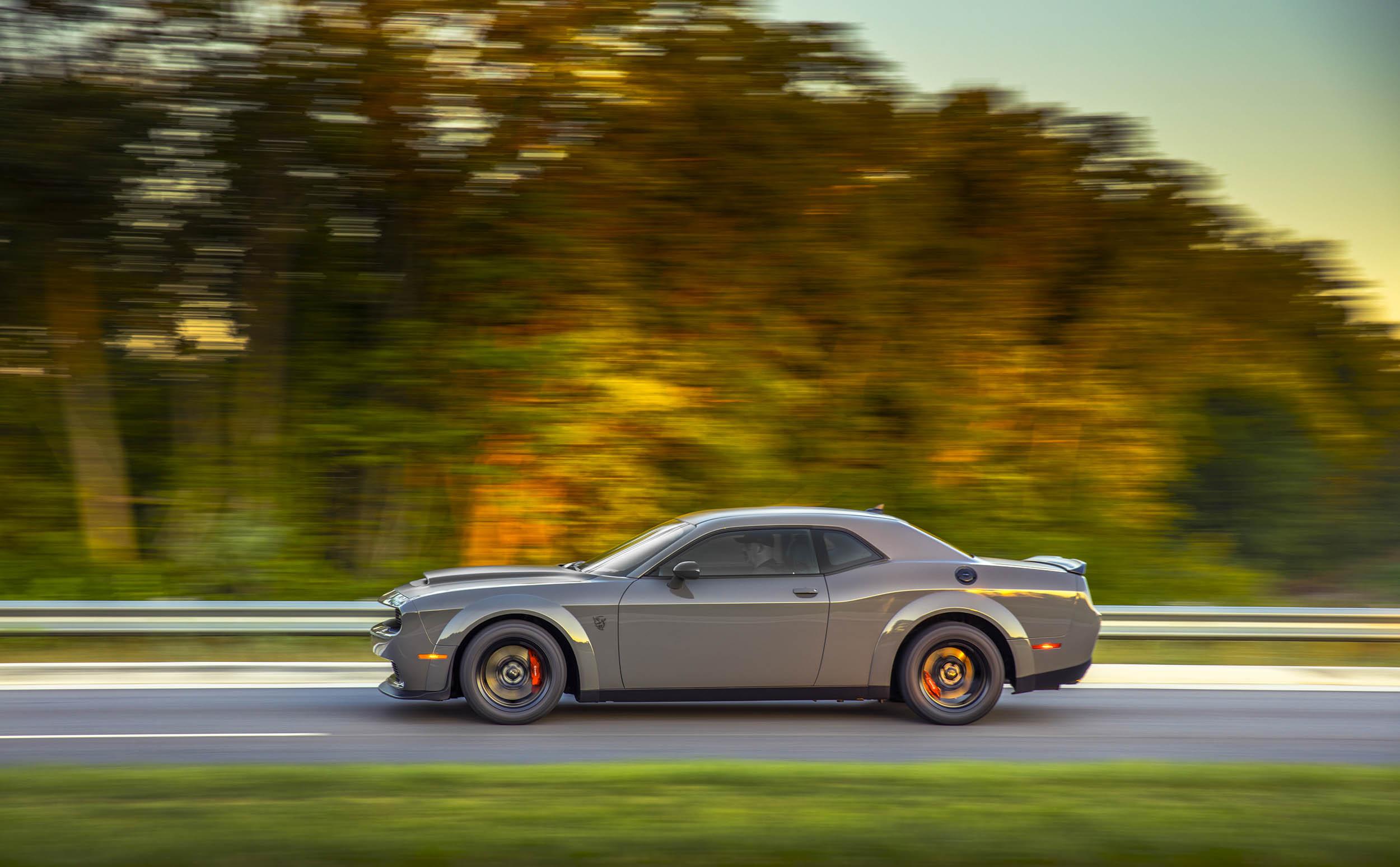 2018 Dodge Challenger SRT Demon profile