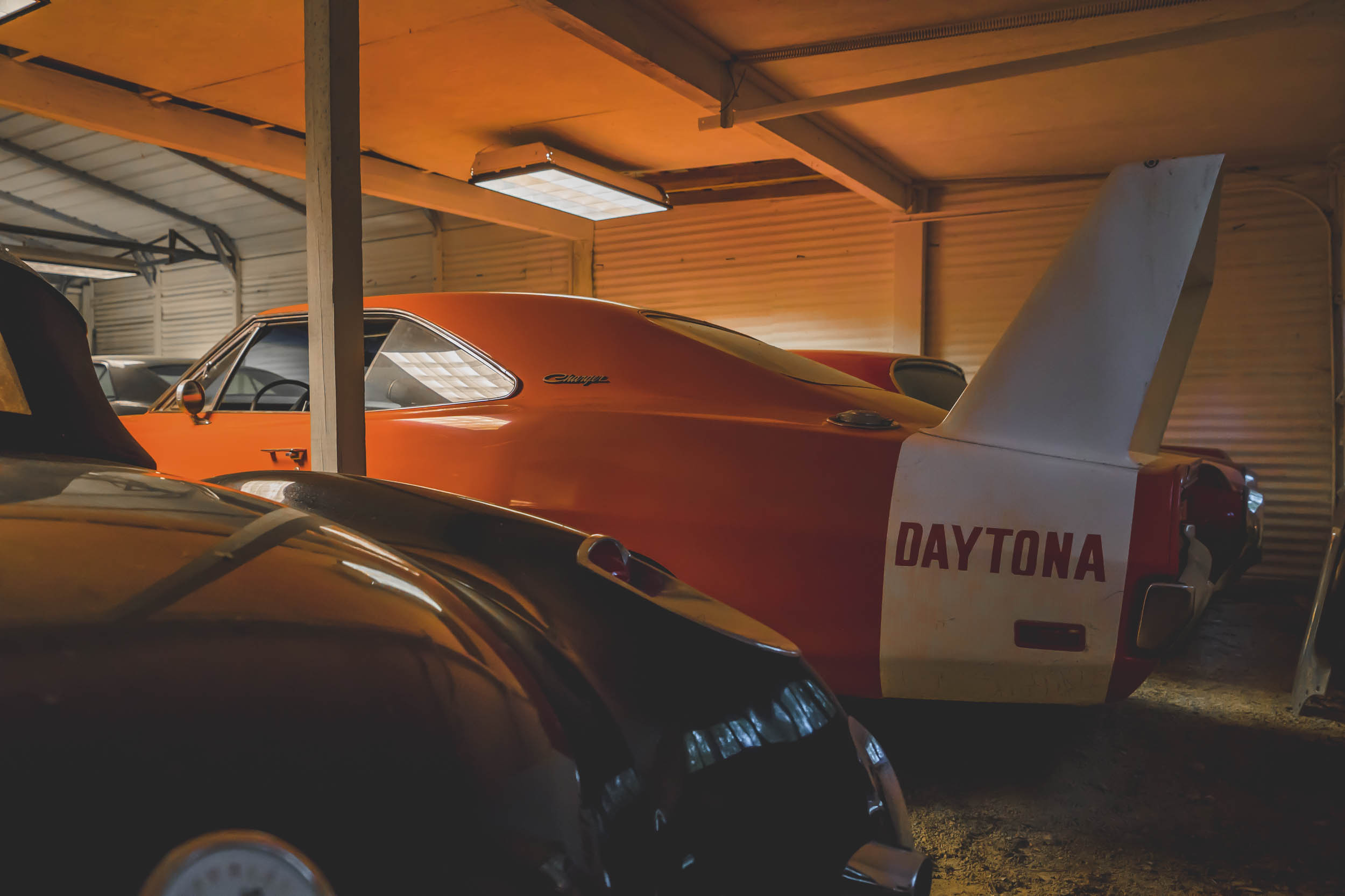 Barn Find Daytona wing car