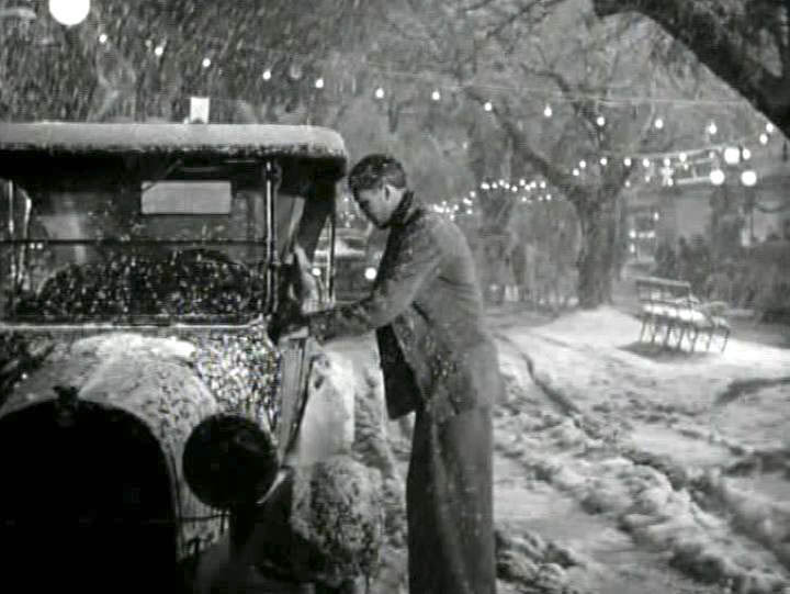 Jimmy Stewart with the 1919 Dodge in It's A Wonderful Life.