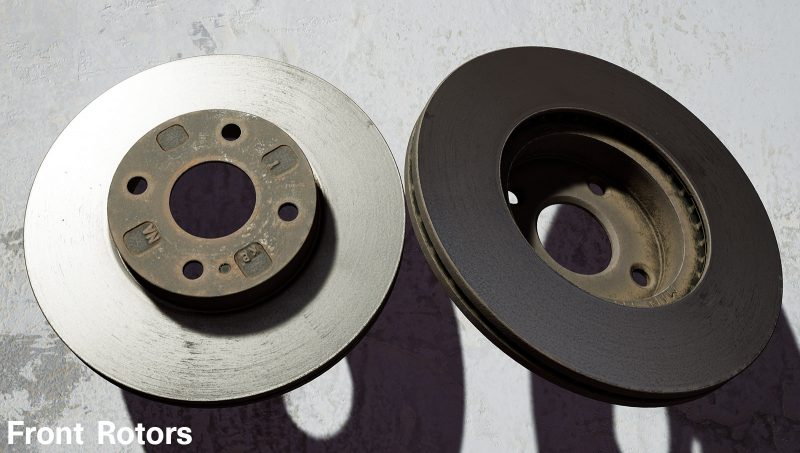 Wrench Front Rotors