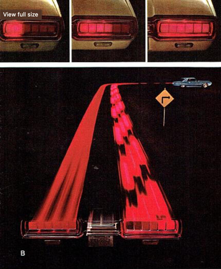1965 Thunderbird taillights