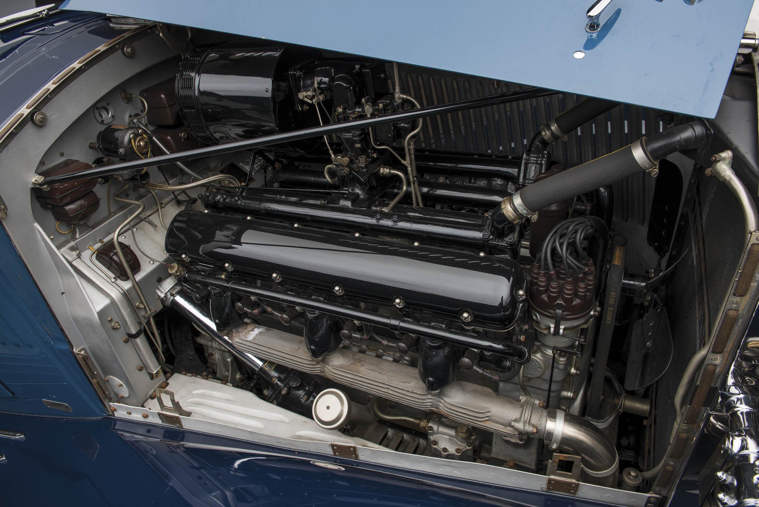 1937 Rolls-Royce Phantom III engine