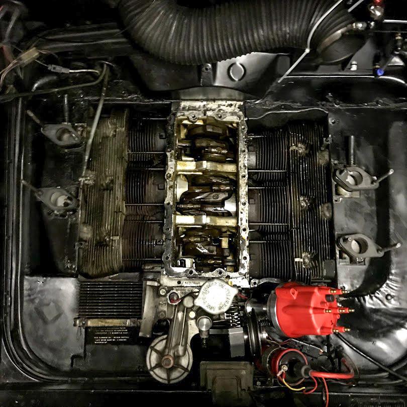 1965 Chevrolet Corvair Corsa crankshaft