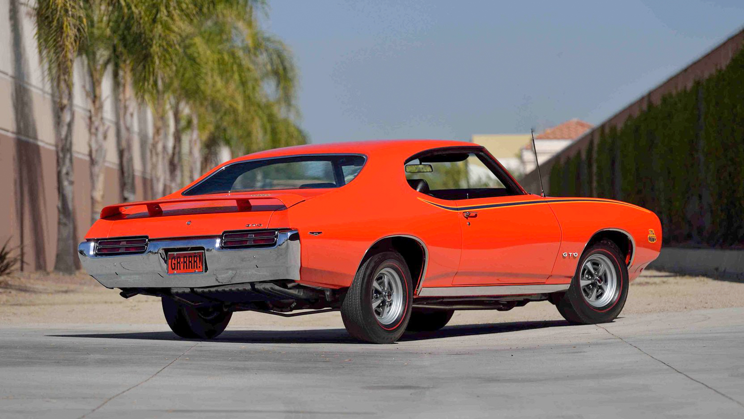 1969 Pontiac GTO Judge 3/4 rear