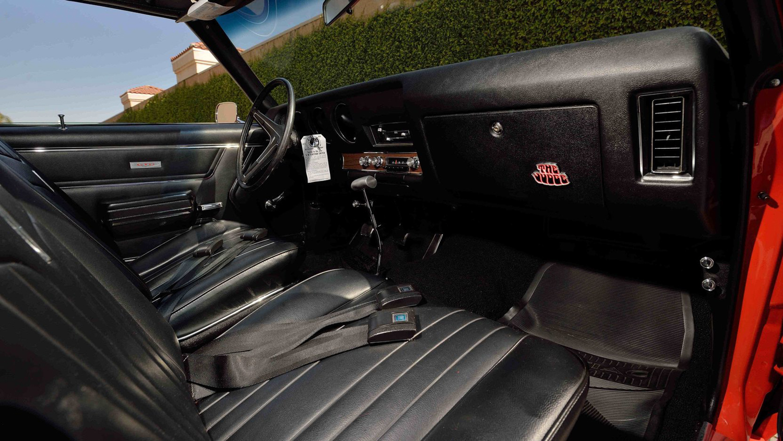 1969 Pontiac GTO Judge passenger interior