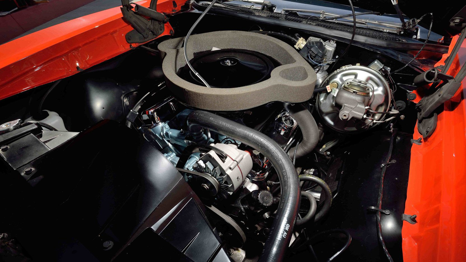 1969 Pontiac GTO Judge engine