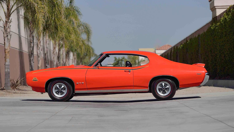 1969 Pontiac GTO Judge driver side