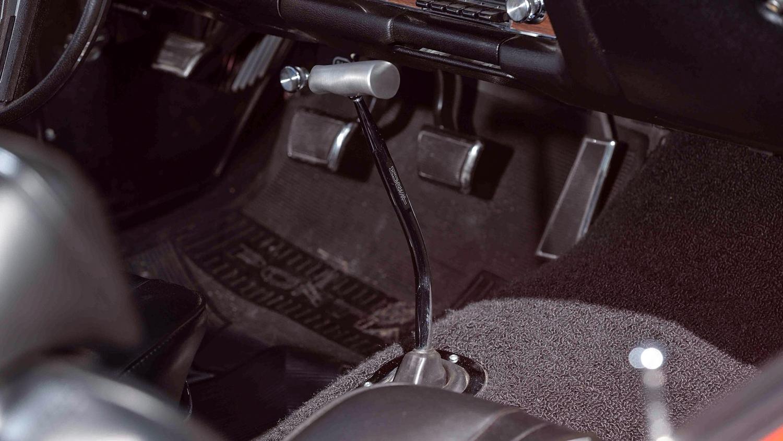 1969 Pontiac GTO Judge shifter interior