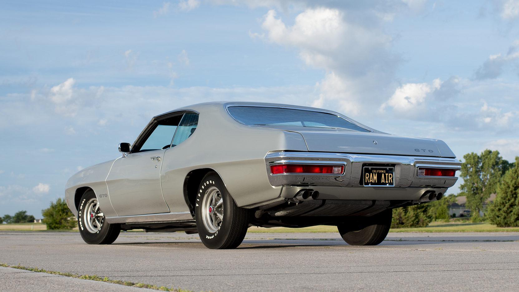 1970 Pontiac GTO Ram Air IV 3/4 rear driver
