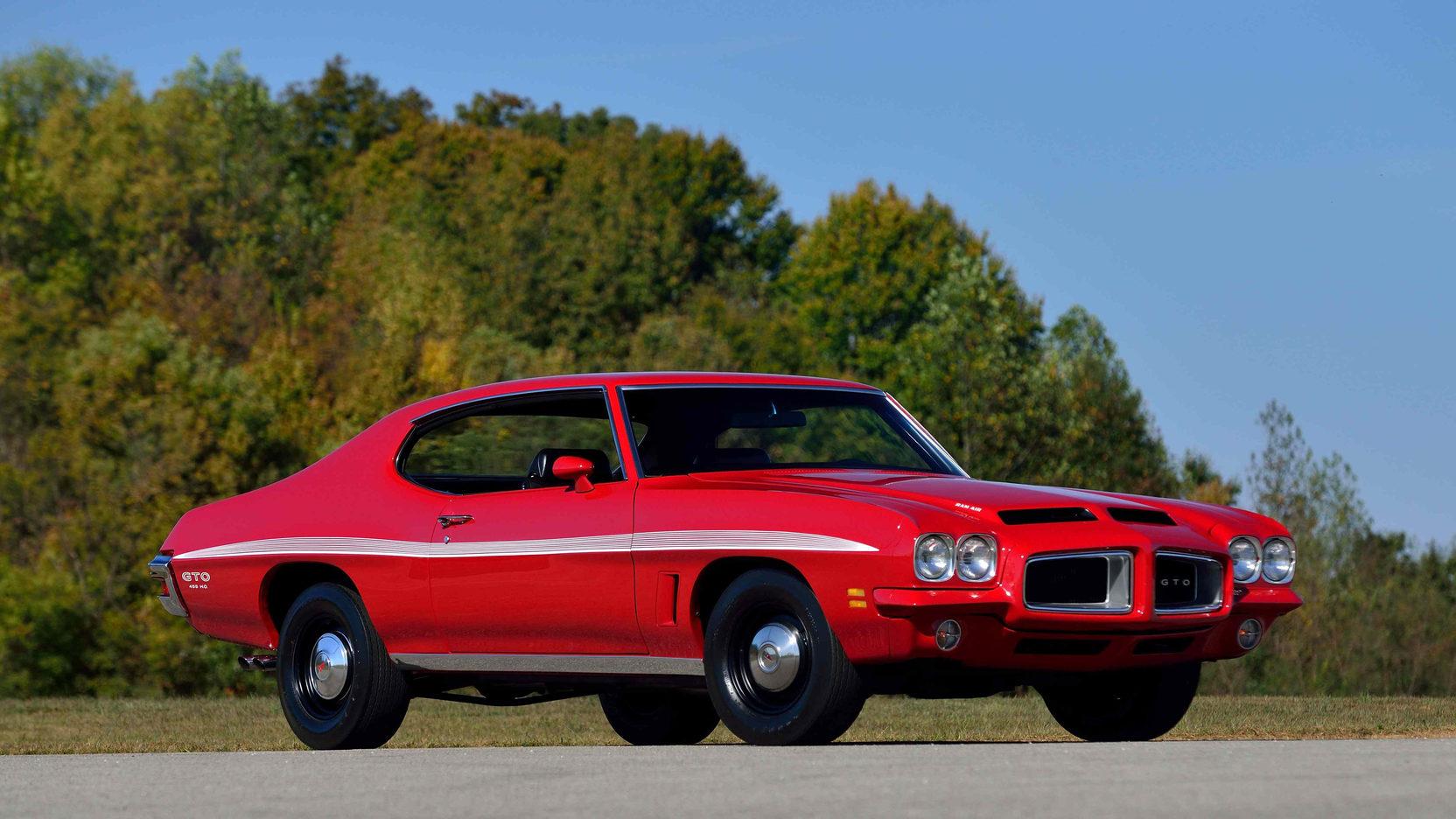 1972 Pontiac GTO front 3/4