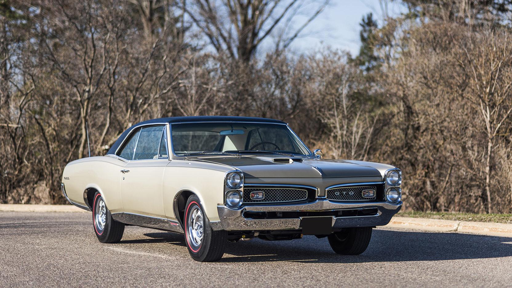 1967 Pontiac GTO 3/4 front