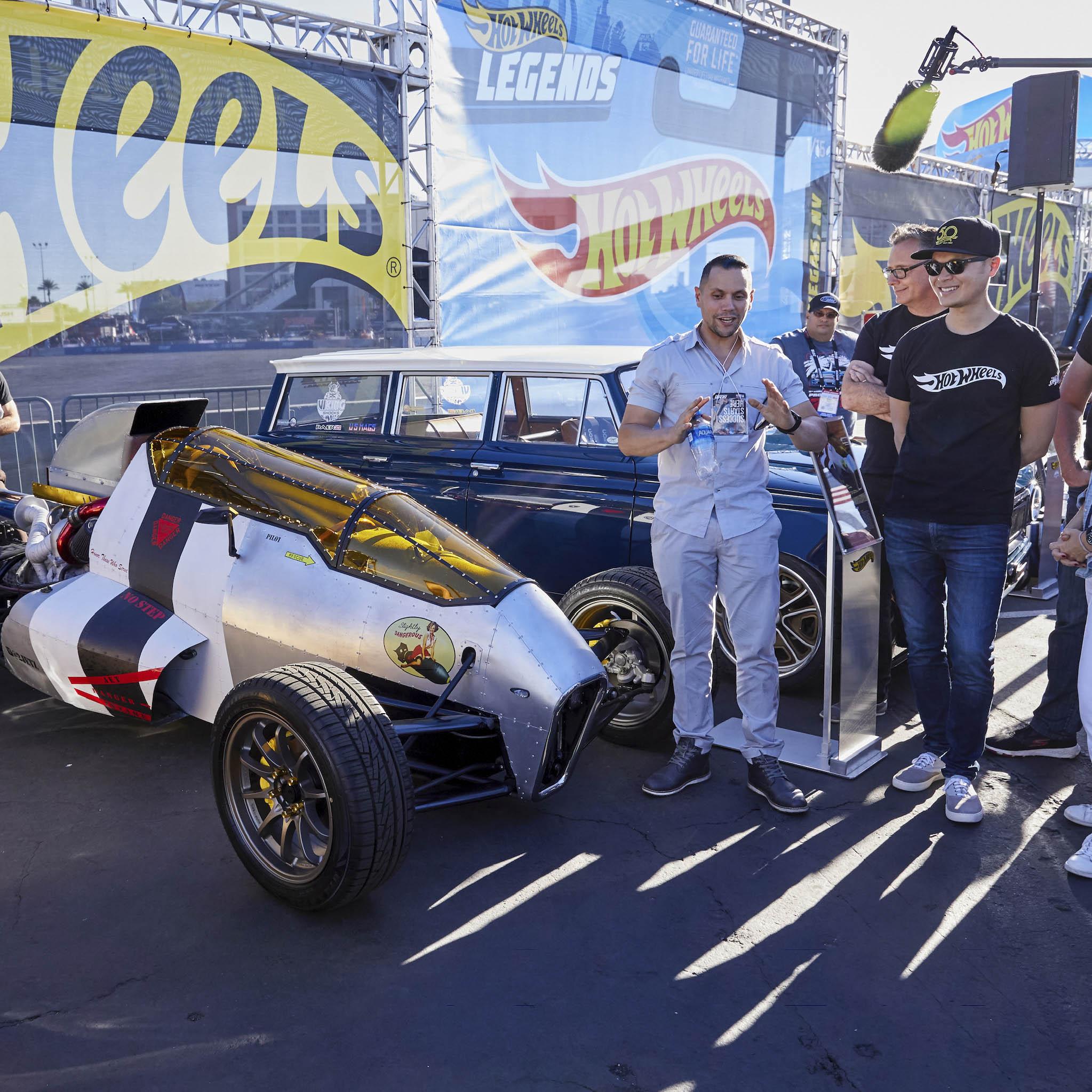 Luis Rodriguez with 2JetZ at SEMA