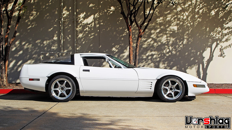 1992 Chevrolet Corvette Side profile
