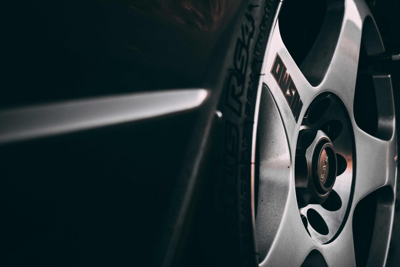 1992 Nissan Skyline GT-R wheel detail